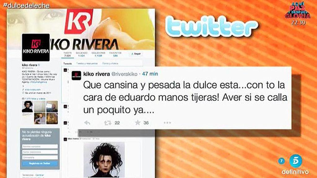 Kiko Rivera responde a Dulce en Twitter