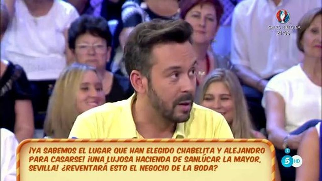"Kike Calleja: ""Este fin de semana Chabelita va a hacer un reportaje"""