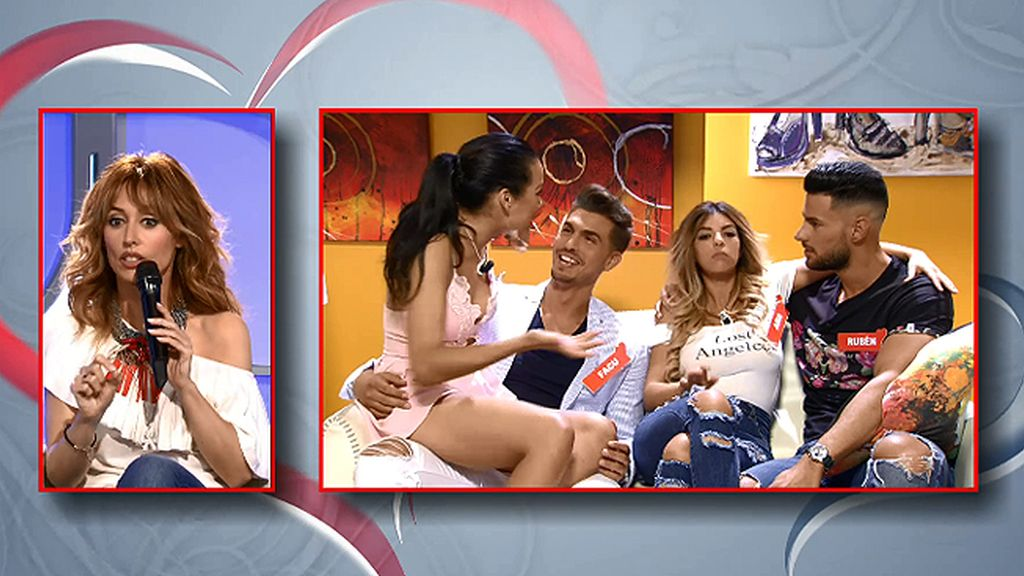 La cita de Facu y Ana ha estado muy concurrida... Rubén y Jessica han estado allí