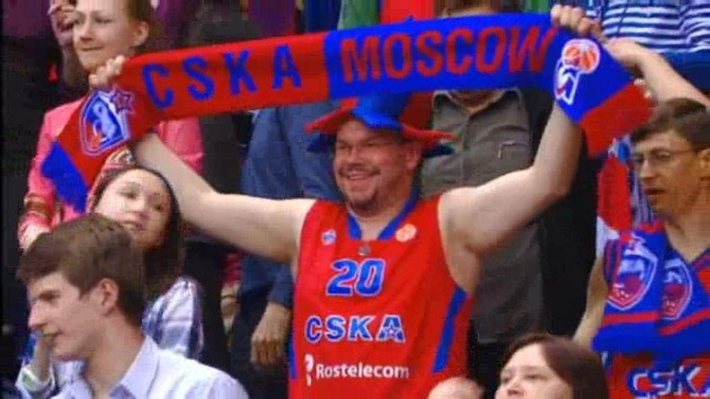 El CSKA camina firme a la final four tras derrotar a Panatinaikos de nuevo (77-51)