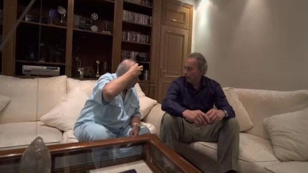 """José Luis Moreno, sobre el asalto a su casa: """"Si no me enfrento a ellos, me matan"""""""