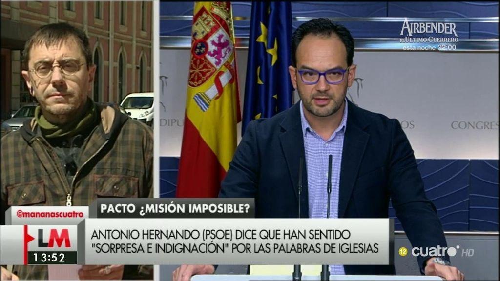"""Juan Carlos Monedero, sobre Albert Rivera: """"Quiere ser el gran enterrador de la posibilidad de un gobierno de cambio"""""""
