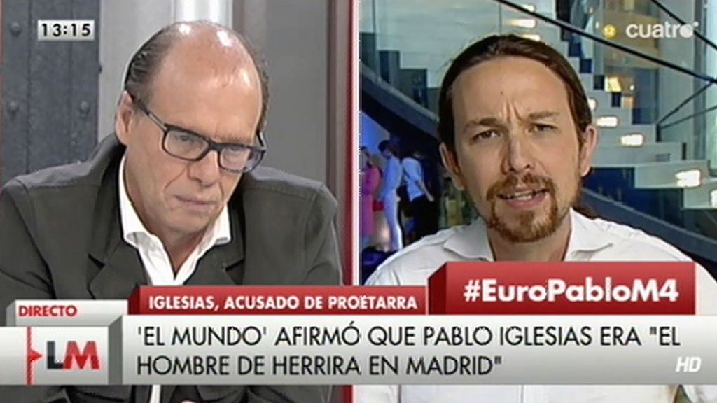 """Iglesias, a González: """"Jamás he justificado el asesinato de nadie, los que decís eso mentís"""""""