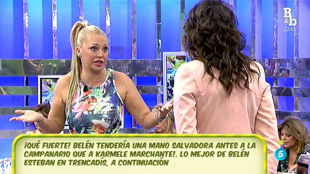 """Belén Esteban aclara que acudió a 'Trencadís', en 8TV, """"sin cobrar un duro"""""""