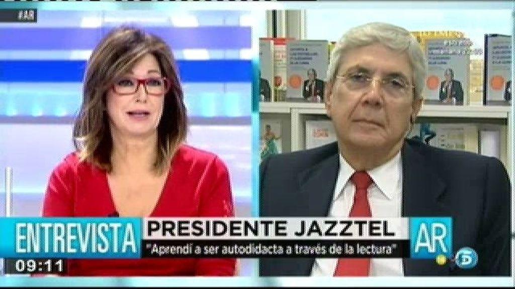 """Leopoldo Fernández Pujal, presidente de Jazztel: """"La única intención de Podemos es establecer el comunismo"""""""