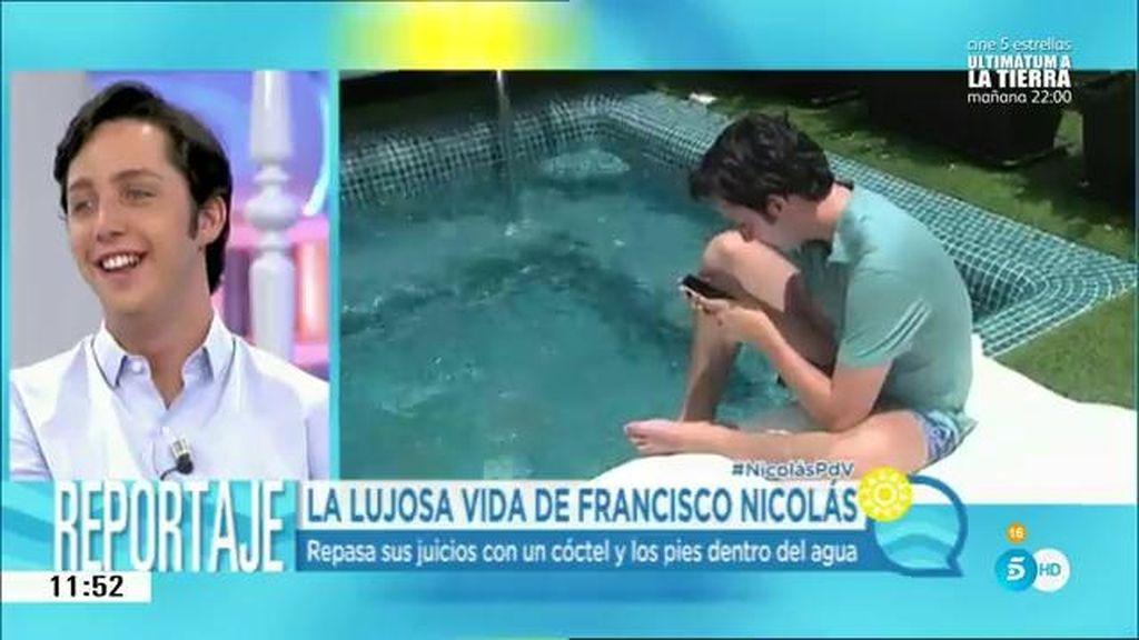 Pasamos 24 horas con Francisco Nicolás para conocer su nueva vida en Canarias