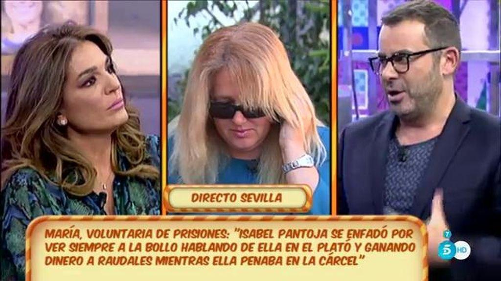 """Raquel, a María: """"Aunque no esté Raquel, de Isabel Pantoja se seguirá hablando"""""""