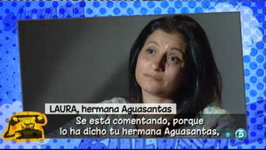 """Laura, hermana de Aguasantas: """"Manuel Cortés hace demasiado caso a su madre"""""""