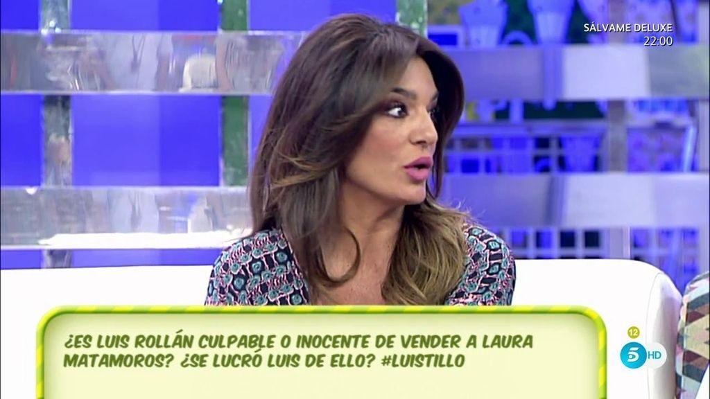 """Raquel Bollo, continúa defendiendo a Luis Rollán: """"Qué saquen las pruebas"""""""