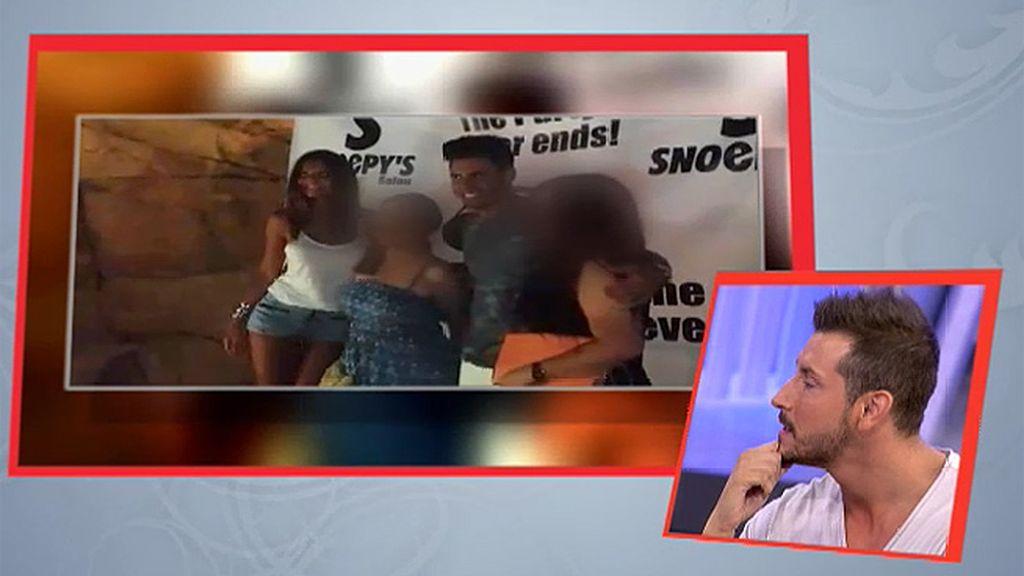María graba un vídeo en un bolo con Noel para tranquilizar a sus chicos