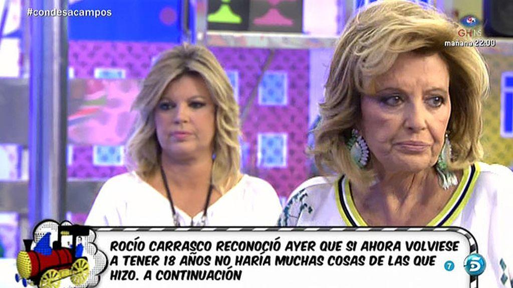 """María Teresa Campos: """"Para mí es brutal verme en bañador en una portada"""""""