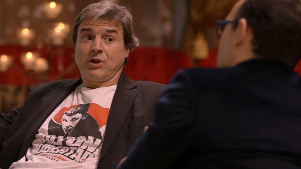 """Alberto San Juan: """"Creo que Podemos es la manera de recuperar las instituciones"""""""