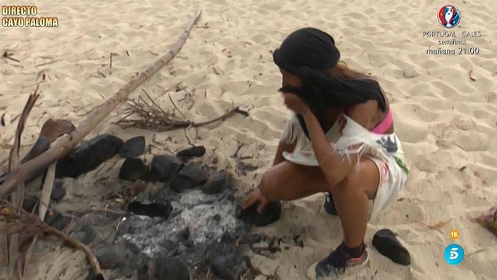 Steisy se despide de Cayo Paloma
