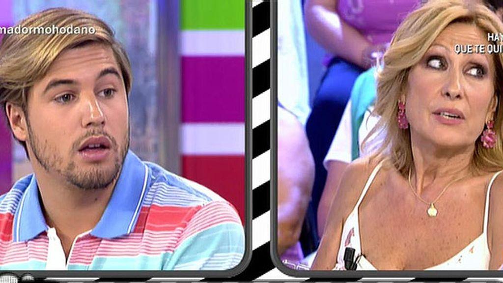 """Abraham García: """"Yo noté que Rosa estaba enamorada de Amador en 'SV"""""""