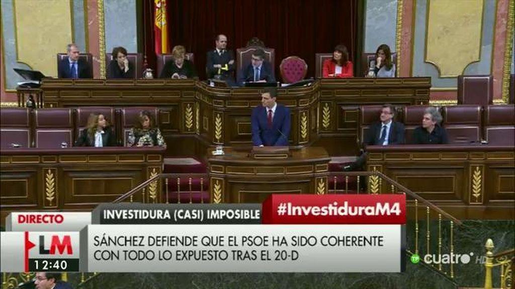 """Sánchez: """"Hay diputados más pendientes de la confrontación que del acuerdo"""""""
