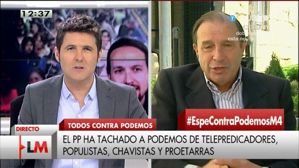 Martínez-Pujalte niega las cifras del paro