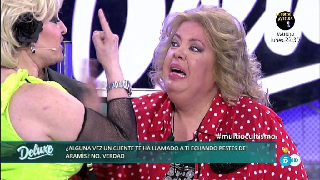 """Conchita Hurtado, rota de dolor: """"No hables de mi madre porque acaba de morir"""""""