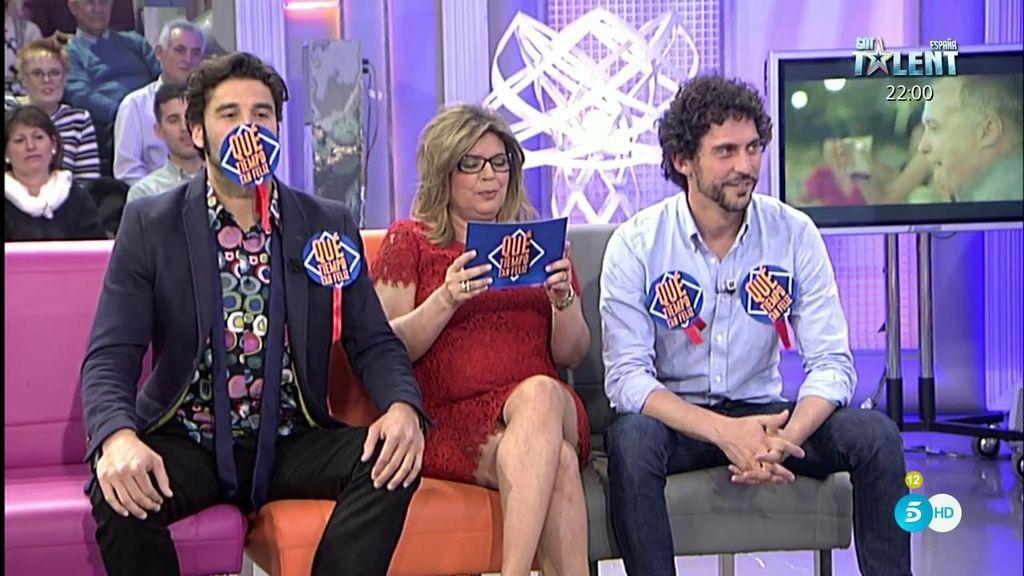 Paco León y Álex García se atreven con nuestro juego: ¿quién sabe más de fobias y filias?