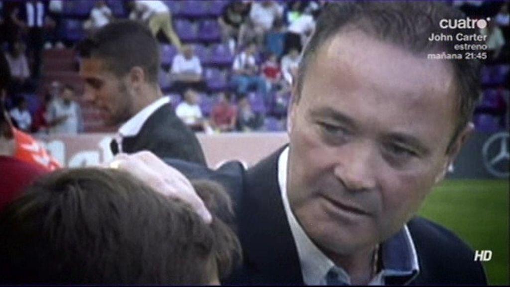 La presencia en el campo de unos niños del Real Madrid incomodó a JIM