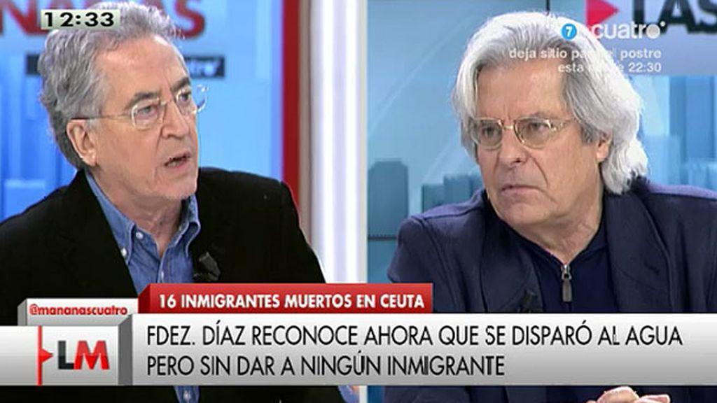 """Javier Nart, a Román Orozco: """"¿Cómo impermeabilizas la frontera?"""""""