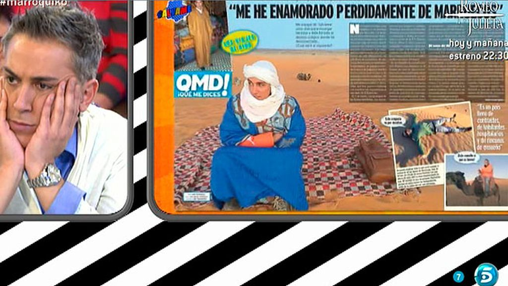 Kiko Hernández, en la revista 'Qué me dices', narra su viaje a Marruecos