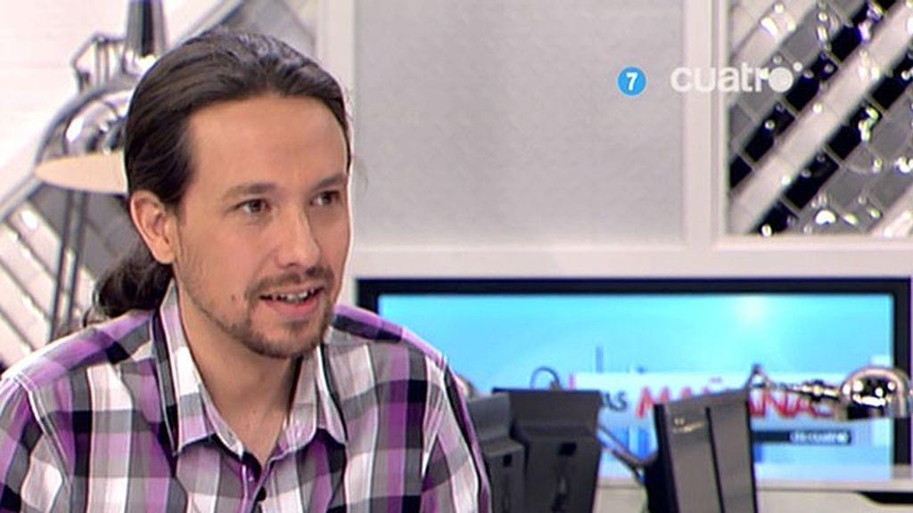 """Pablo Iglesias no se corta la coleta: """"Soy quien soy, la coleta seguirá acompañándome"""""""