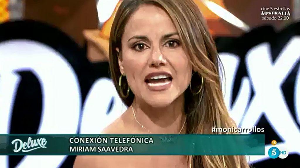 """Mónica estalla contra Miriam: """"¿Tú quién eres para hablar de mi familia? ¡Corta ya!"""""""