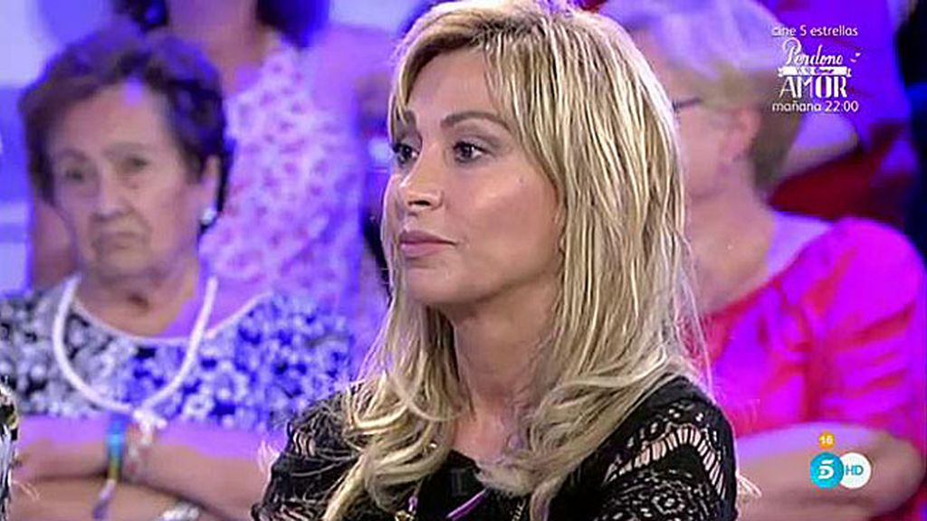 """María de Mora: """"Luis se llevó 2.000 euros por traer a una amiga suya a mi agencia"""""""