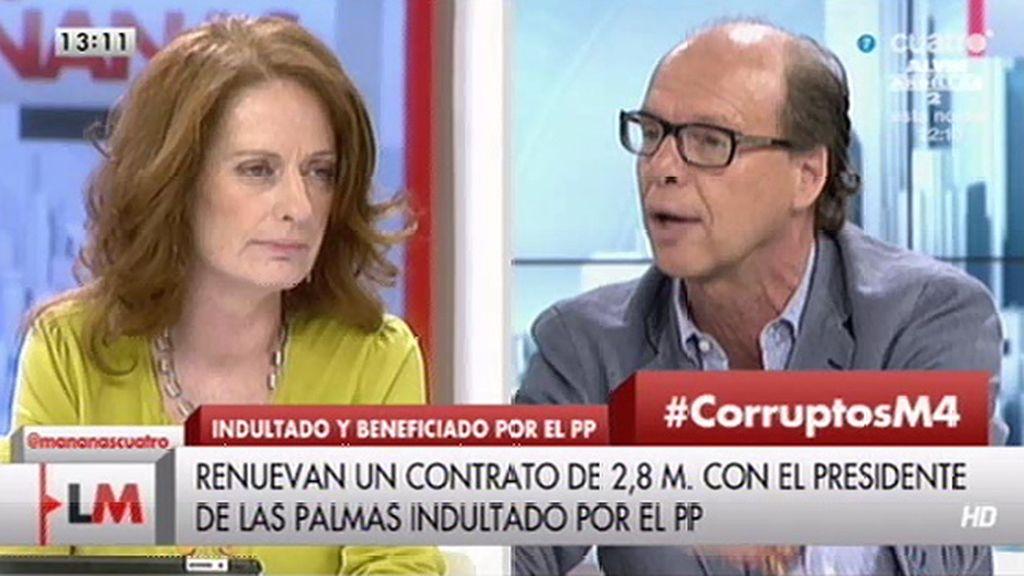 """Alicia Gutiérrez, a Jaime González: """"No me des lecciones"""""""