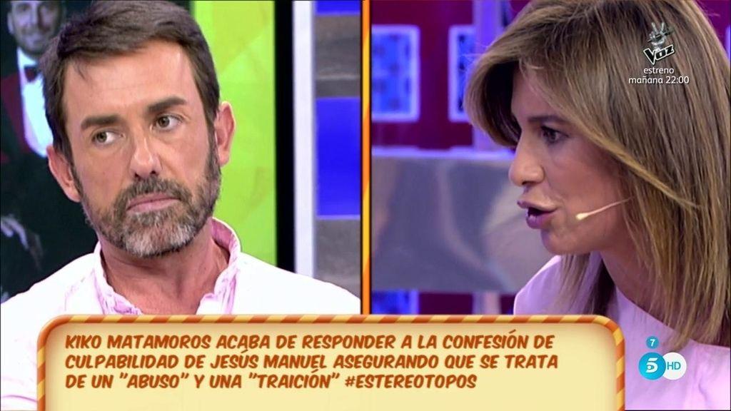 "Gema López, a Jesús Manuel: ""No me toques las narices"""