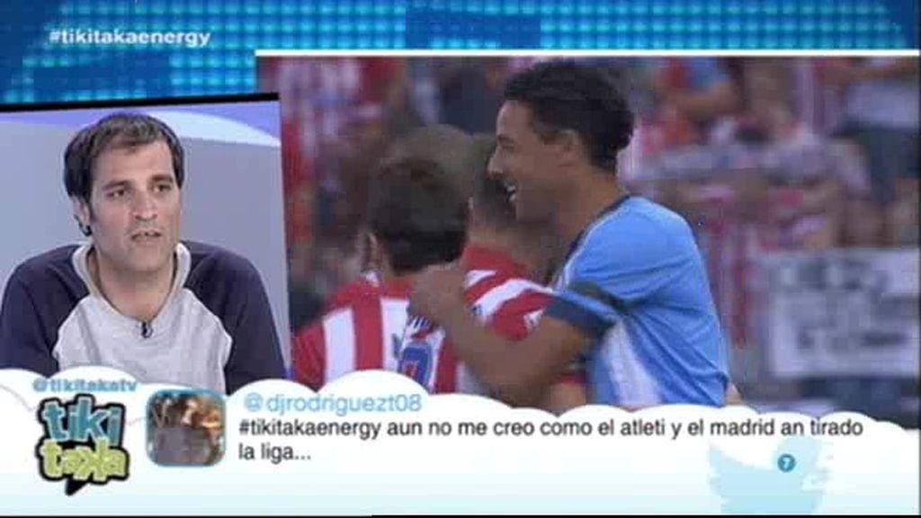 """David Sánchez, ante la final del Camp Nou: """"El favorito para ganar la Liga es el Atlético"""""""