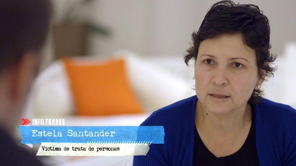 """Estela, víctima de trata: """"Siempre tuve miedo, pero no voy a dejar de luchar"""""""