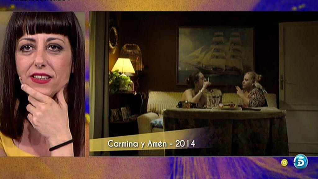 La mejor escena de Yolanda Ramos en 'Carmina y amén': cara cara en un sofá