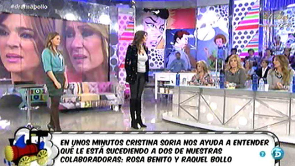 Cristina Soria analiza la comunicación no verbal de Raquel Bollo y Rosa Benito