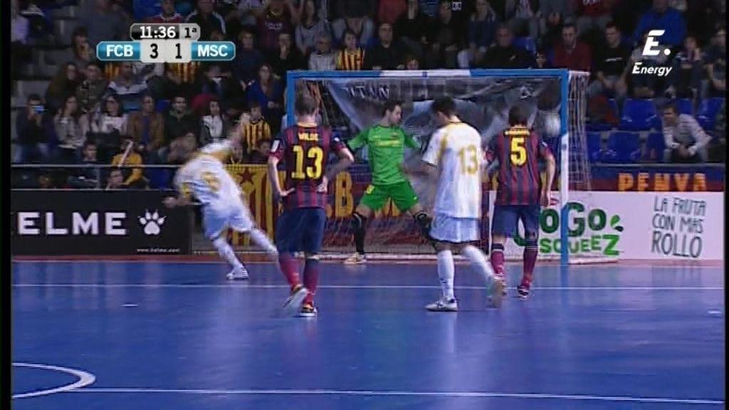 Gol de Dani Salgado (Barça 3-1 Marfil)