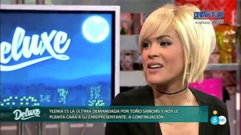 """Ylenia, de Toño Sanchís: """"Creo que tiene él que perder más que yo"""""""