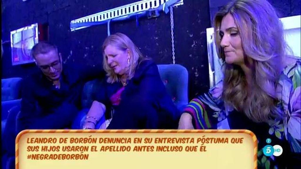 """Blanca de Borbón, tras escuchar la entrevista póstuma de su padre: """"Es todo mentira"""""""