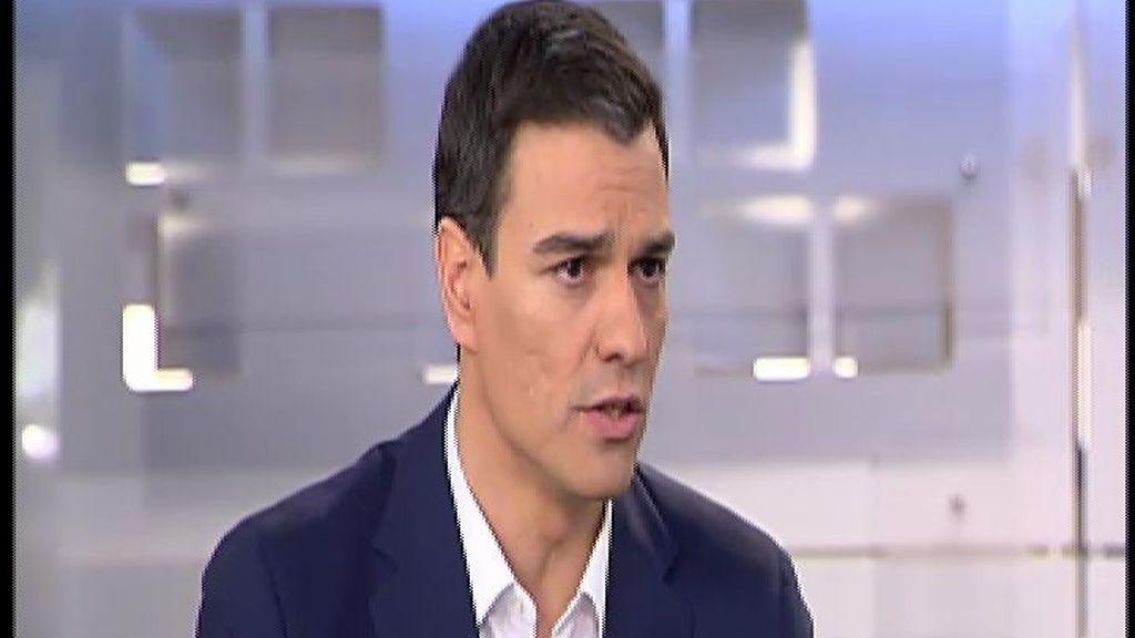 """Pedro Sánchez: """"El terrorismo yihadista es una amenaza real"""""""