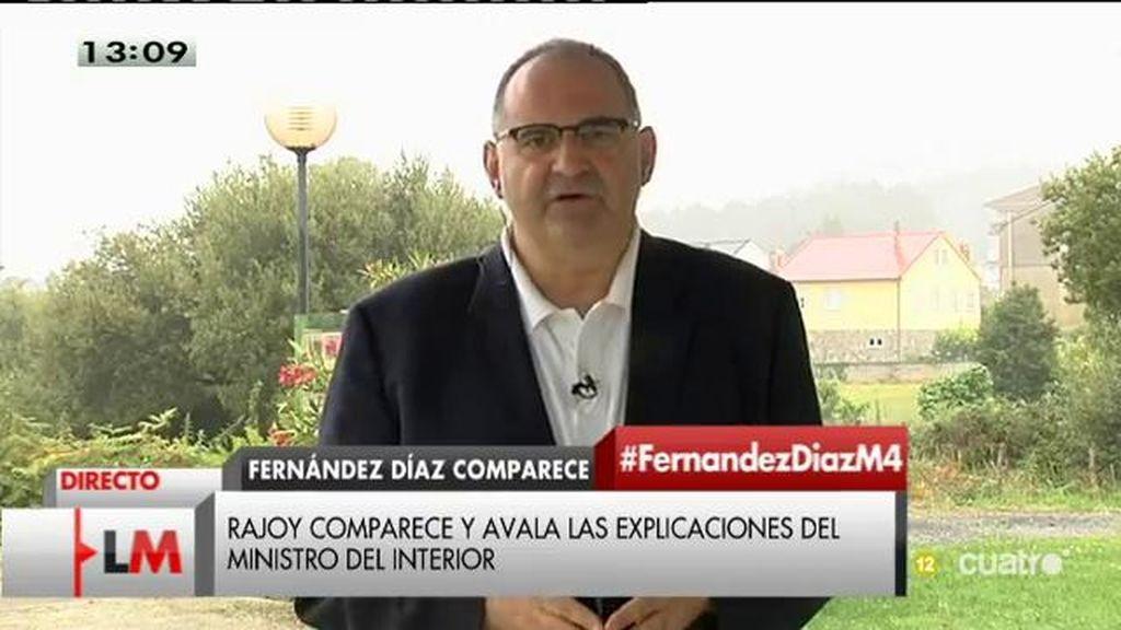"""Antón Losada: """"Rajoy ha enviado a Fernández Díaz al Parlamento para que se suicide políticamente"""""""