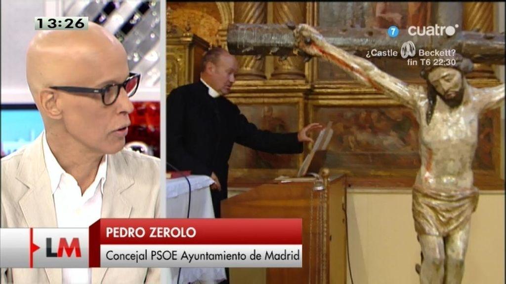 """Zerolo: """"Es terrible oír 'castigo divino' de quien debería predicar lo contrario"""""""