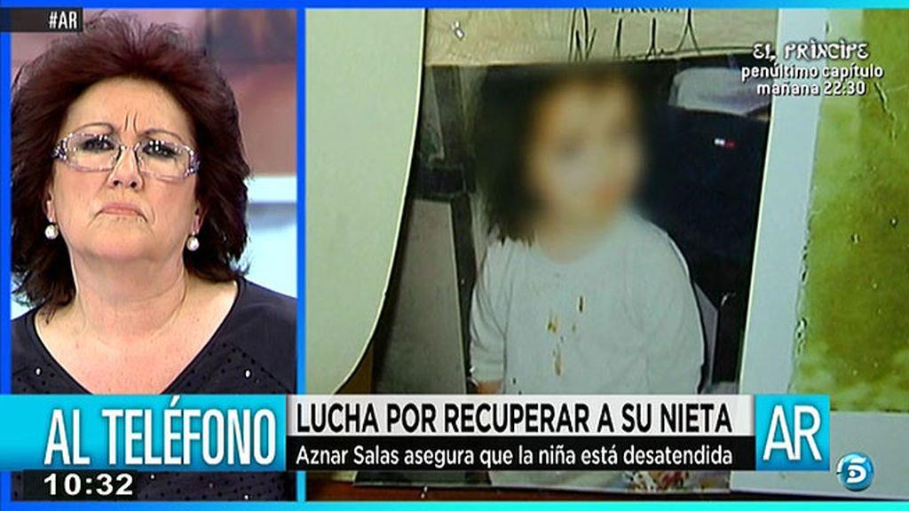 """Aznar Salas, conocido de la madre de Luna: """"Ella dejaba a la niña y estaba de fiesta"""""""