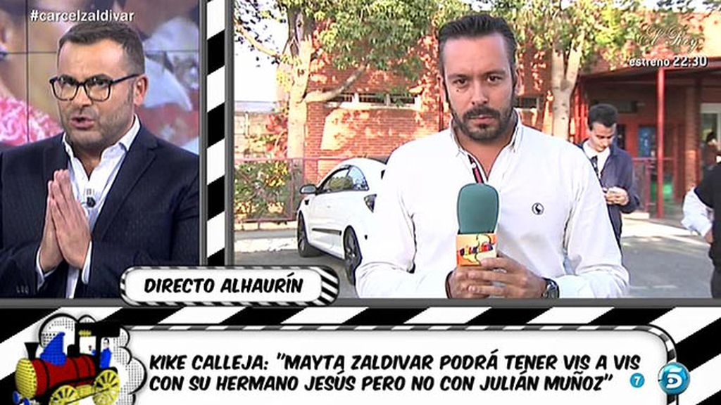 Kike Calleja revela cómo será la vida de Mayte Zaldívar en la cárcel