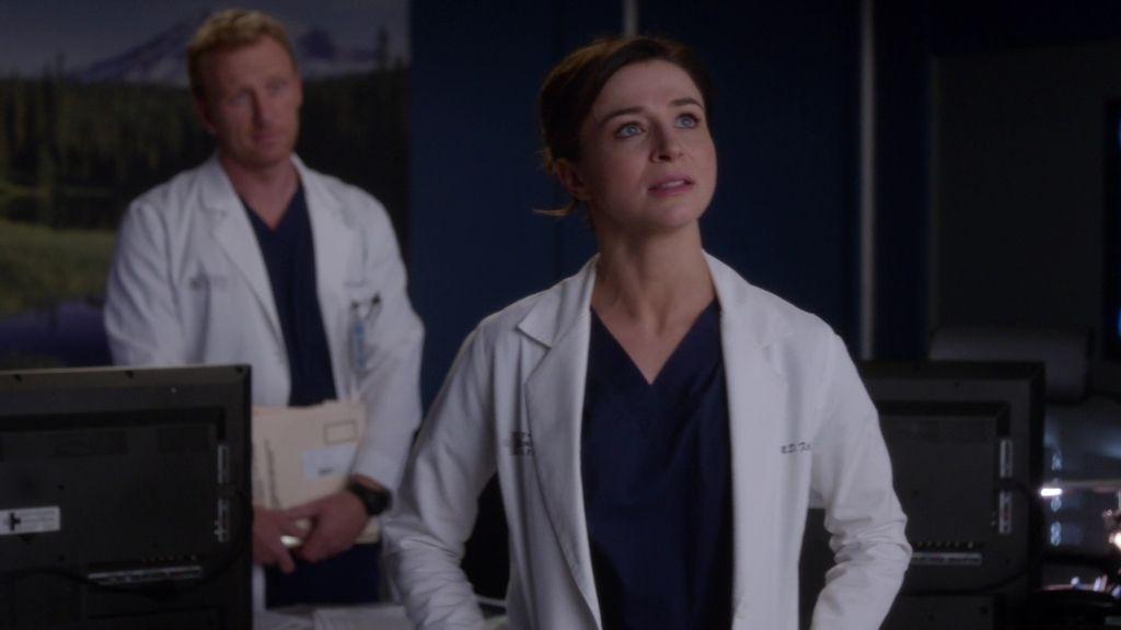 Hunt despeja las inseguridades de Amelia con Meredith