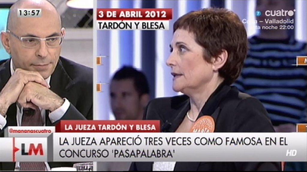Elpidio Silva opina sobre la aparición de la jueza Tardón en 'Pasapalabra'