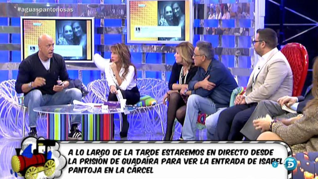 """El emotivo 'tuit' de Raquel Bollo a Pantoja: """"Ahora me toca a mí. Te quiero"""""""