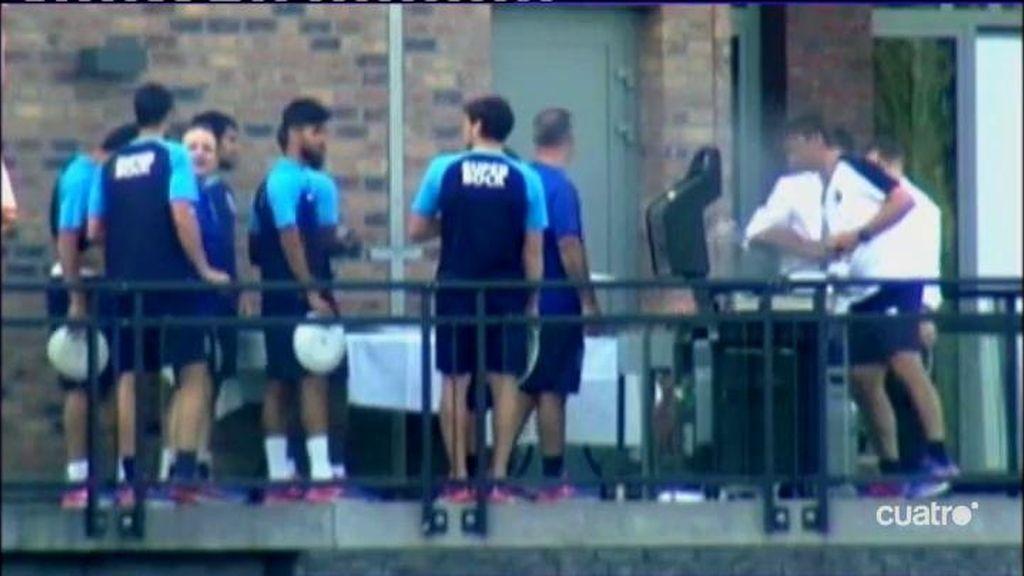 Casillas se integra en la plantilla del Oporto: barbacoa y risas con la armada española