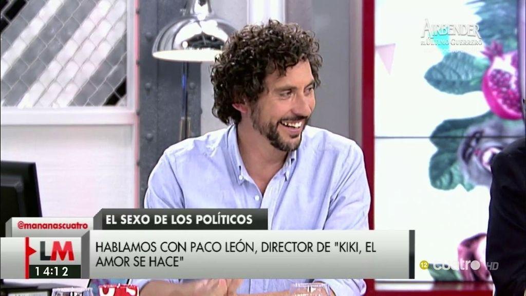 """Paco León: """"Habría pacto si por lo menos se hubieran dado unos besitos"""""""