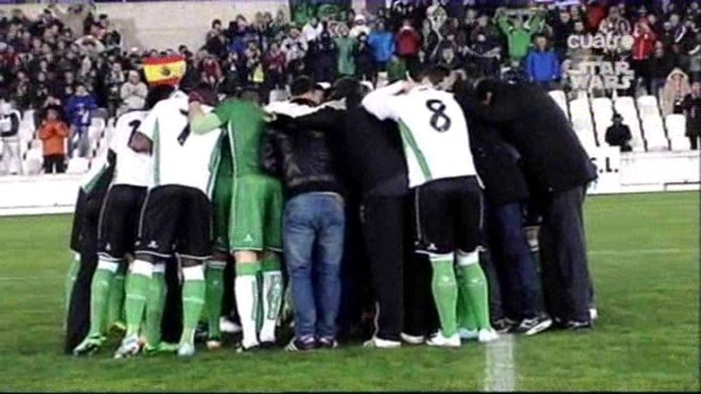 Lo que ocurrió tras los 57 segundos del partido de Santander