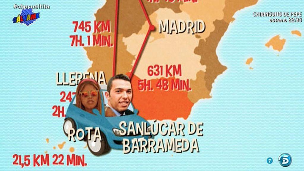 La escapada de Chabelita y Alberto Isla