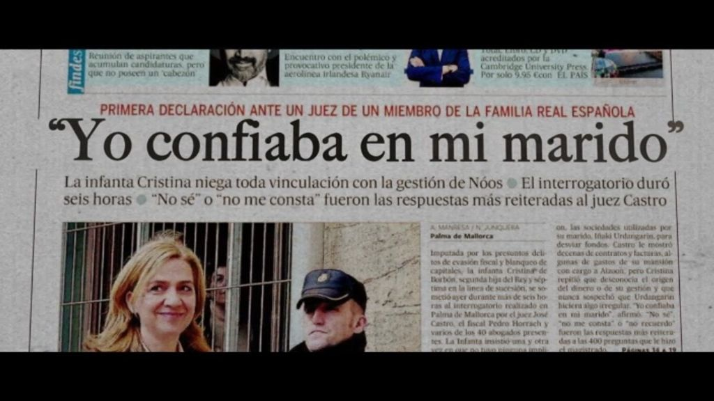 """Zapatero, sobre la imputación de la Infanta Cristina: """"Es un asunto muy singular"""""""